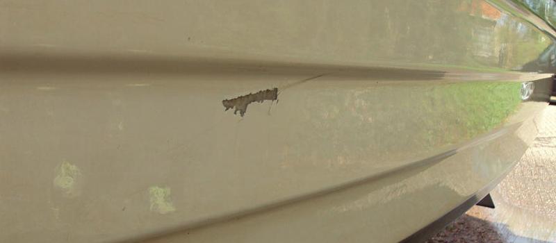 Polyester gelcoat reparatie
